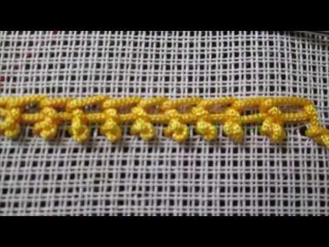 BUTTERFLY STITCH ( TAMIL) - HAND EMBROIDERY STITCHES - EASYSTEPS - YouTube | PUNTOS DE BORDADOS ...