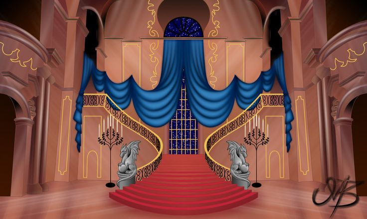 Beast's Castle by venonsting.deviantart.com on @DeviantArt ... Beauty And The Beast Castle