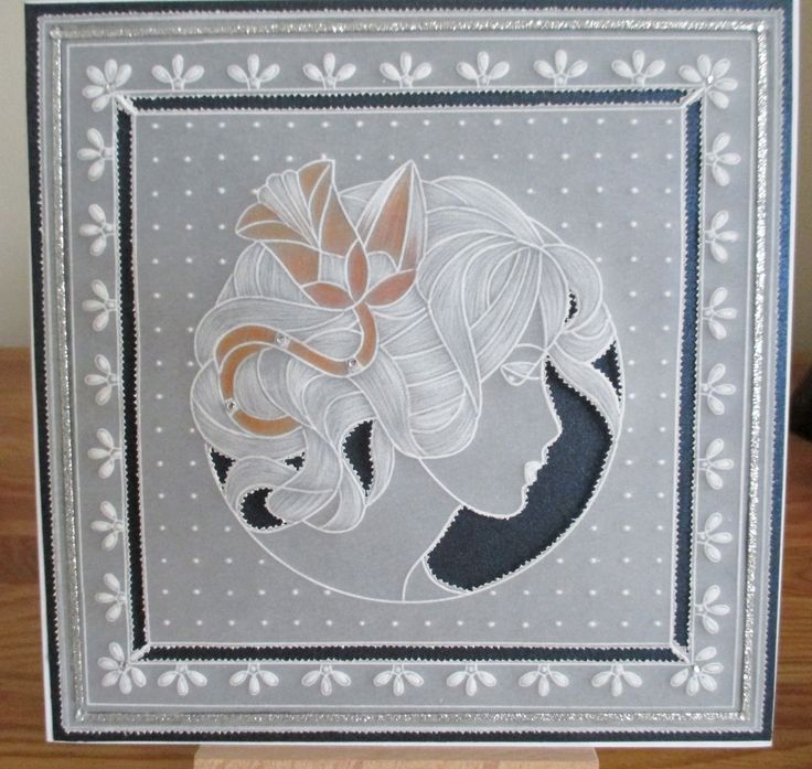 Parchment design using Madeleine plate for Groovi system by Claritystamps.