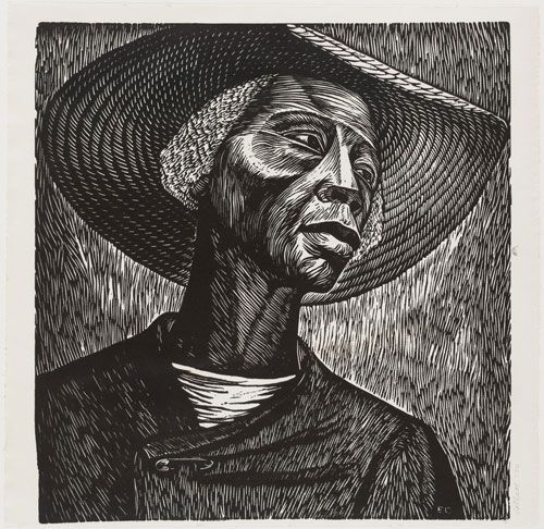 """moma: """" Artist Elizabeth Catlett, who said the purpose of her art was to """"present black people in their beauty and dignity for ourselves and others to understand and enjoy,"""" was born on this day in..."""