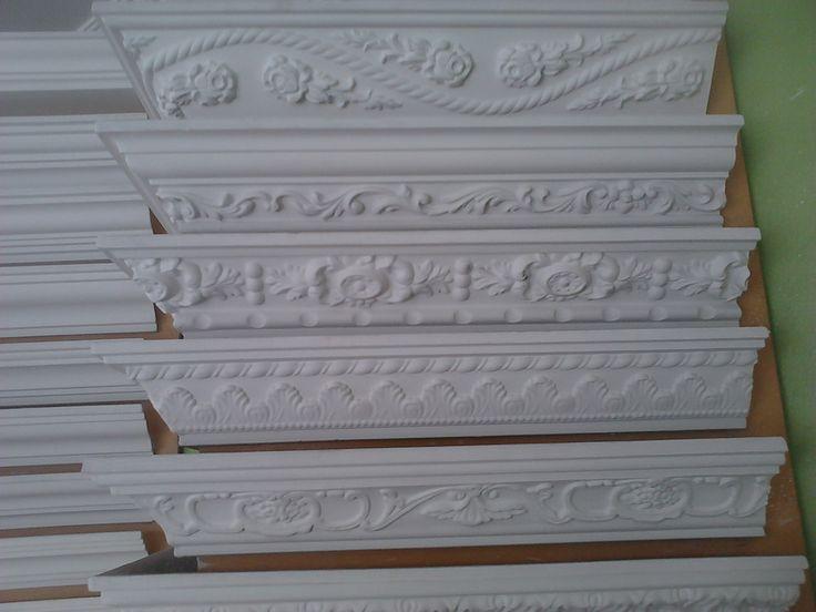 Mejores 48 im genes de decoraci n yeso en pinterest - Molduras para techos interiores ...