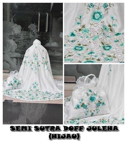 Mukena SS JUleha Bahan Semi Sutera Set = Mukena + Tas 085855741030 Only SMS