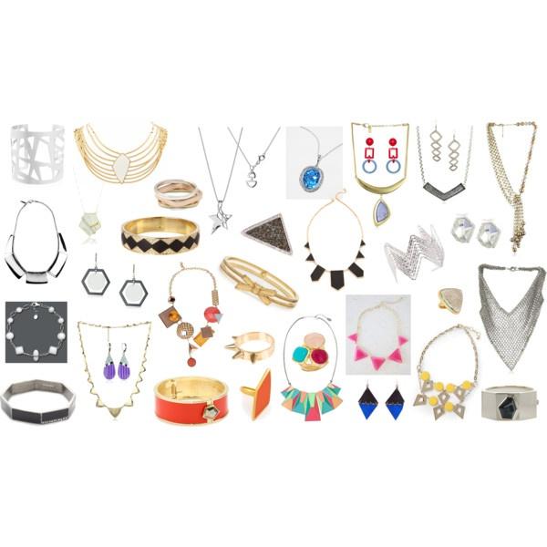 """Kibbe's Gamine Jewelry"" by lightatheart on Polyvore"