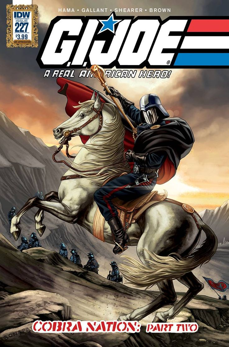 GI Joe A Real American Hero 227 Comic CoversBook