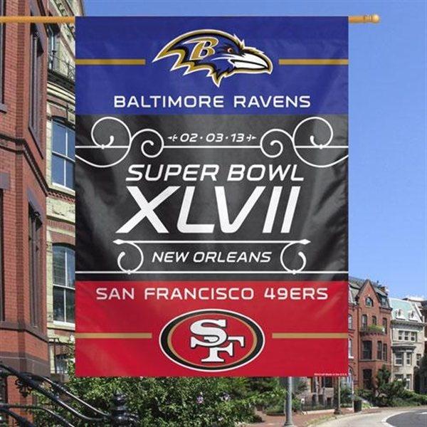San Francisco 49ers vs. Baltimore Ravens Super Bowl XLVII Dueling ...