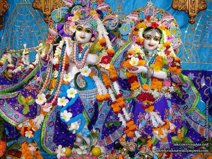 Sri Sri Radha Giridhari Wallpaper