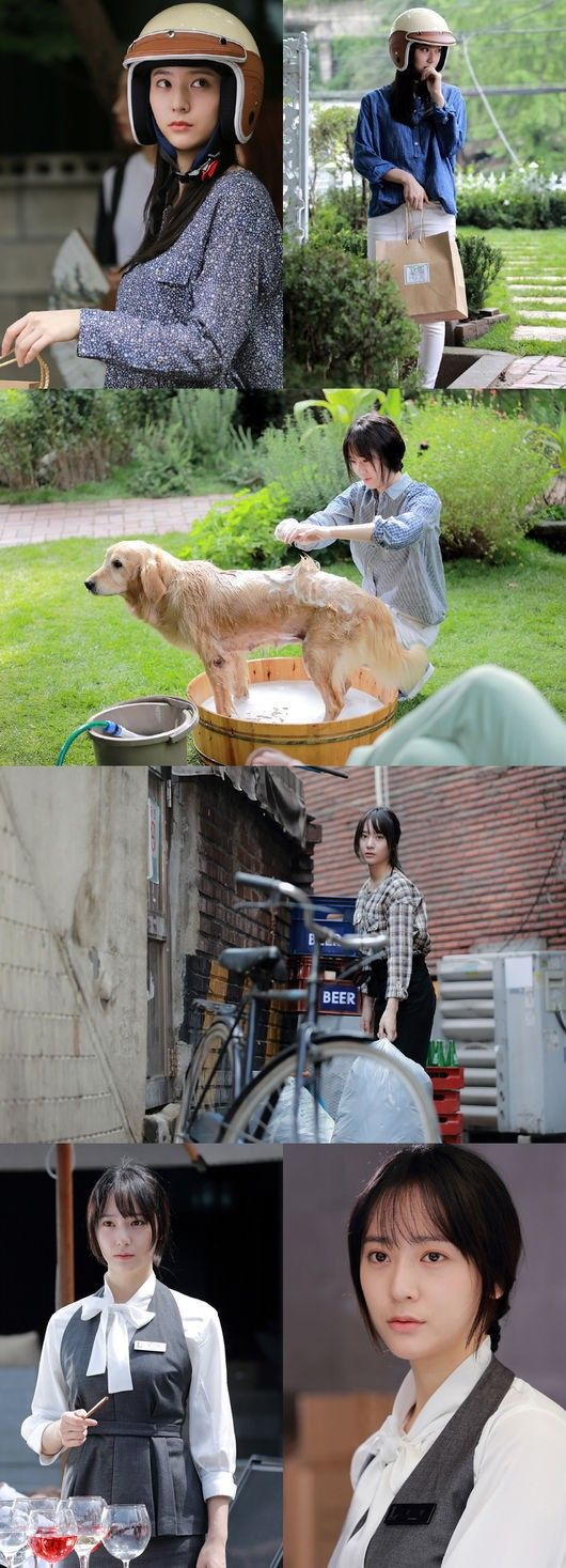 Still cut photos of 'My Lovely Girl' reveal Krystal working multiple part-time jobs | http://www.allkpop.com/article/2014/09/still-cut-photos-of-my-lovely-girl-reveal-krystal-working-multiple-part-time-jobs