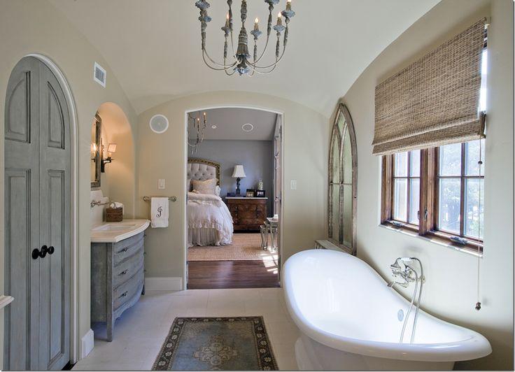 70 best bathroom inspiration images on pinterest for Amazing master bathrooms