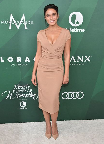 Emmanuelle Chriqui attends Variety's Power of Women Luncheon 2016 at the Beverly Wilshire Four Seasons Hotel on October 14, 2016 in Beverly Hills, California.