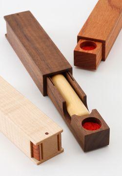 木工デザイン製作所/印鑑ケース ウォールナット 小