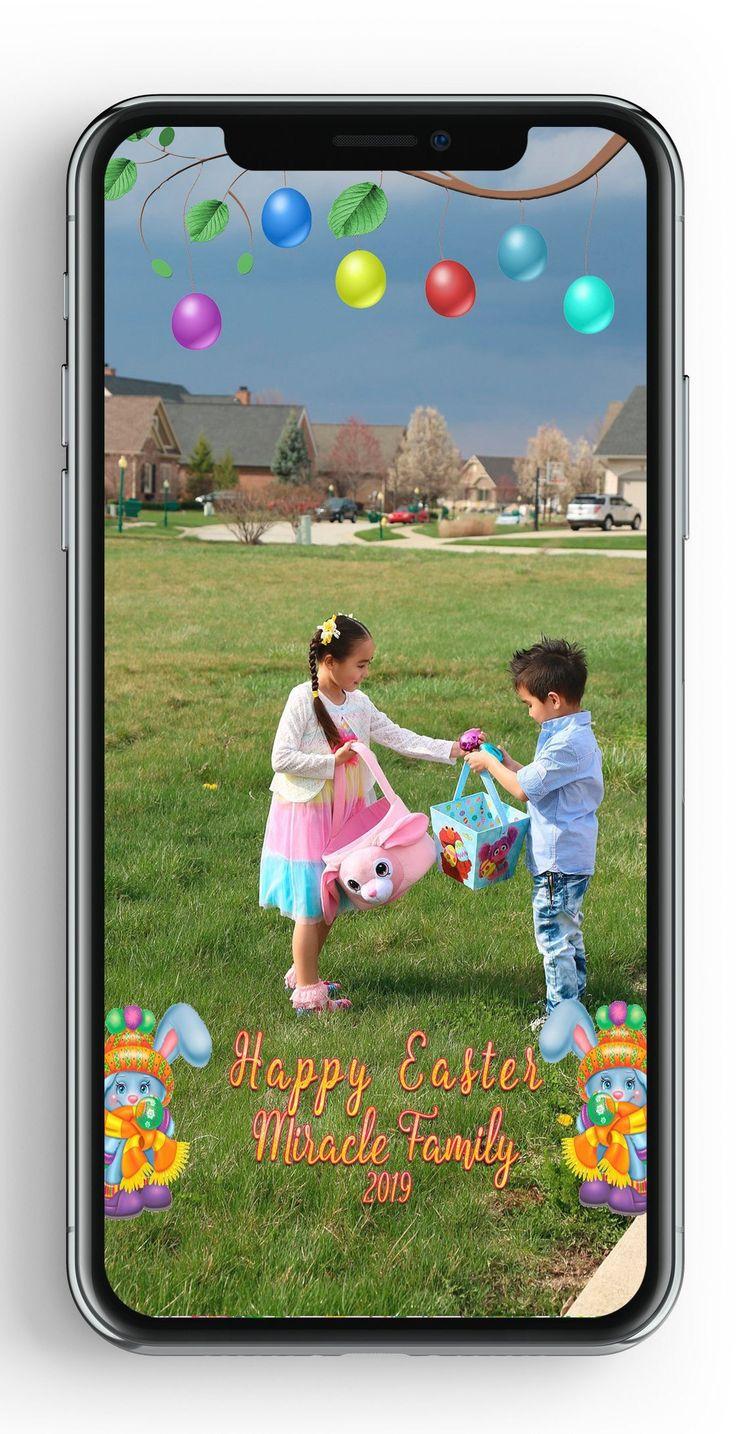 Easter snapchat filter Easter Egg Hunt Snapchat Filter Easter Geofilter Bunny Snapchat Filter 1st easter Snapchat Filter Personalized Bunny