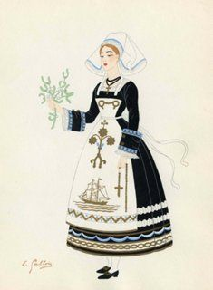French Costume, Brittany