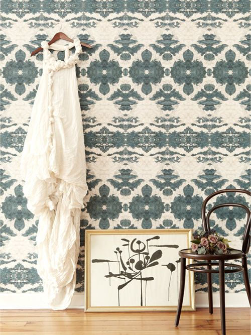 I love Eskayel's new wallpapers. Can't wait to see these in person at ICFF #wallpaper #eskayel