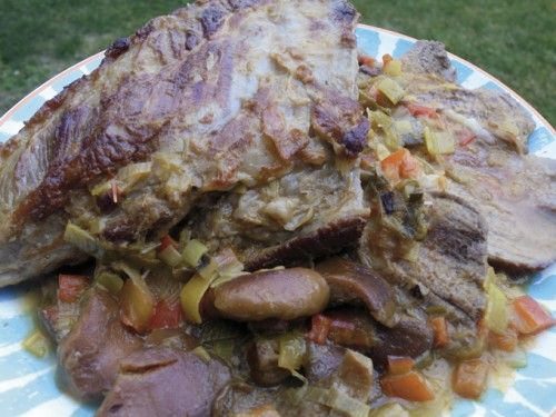 Aguja de ternera braseada con cava y níscalos. Una receta de Rubén Cordero http://www.eblex.es/ver_recetas_gourmet.php?id_receta=268 #gastronomía #recetas