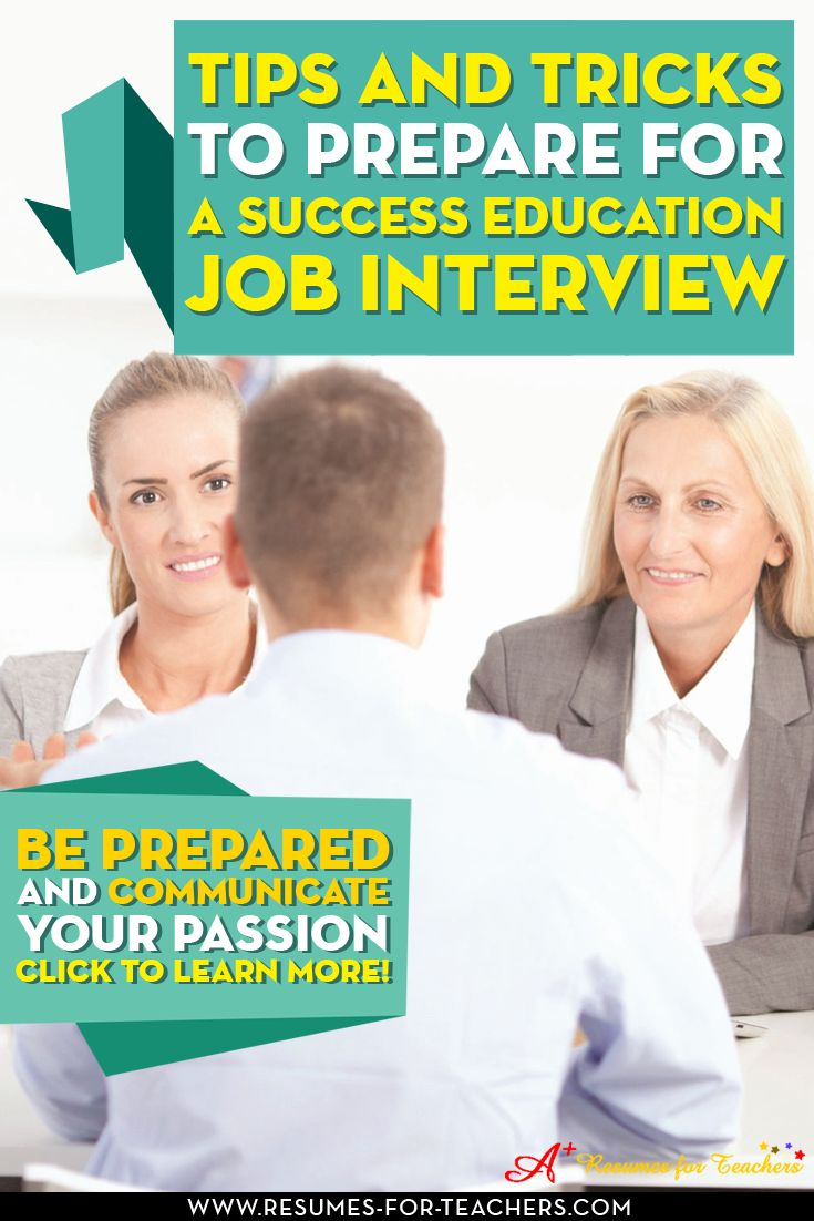 1000 images about teacher interview questions and answers on education job interview tips and tricks to prepare for a successful school teacher or administrator job