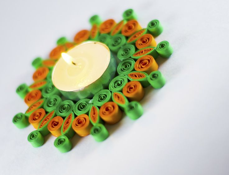 Quilling Candle Holder
