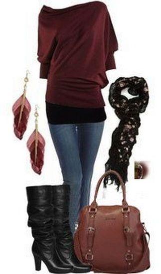Michael Kors Bags fall 2014 Outfit..I like the sweater....