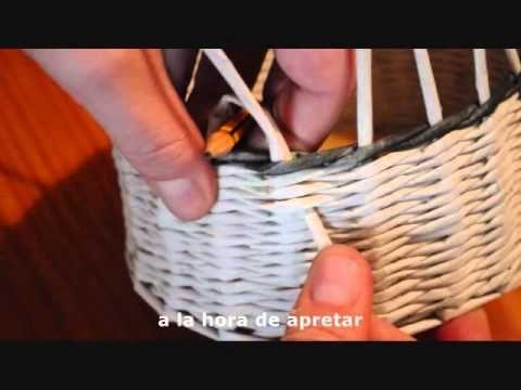 9.1. (subt) Cómo hacer los bordes: cortar e introducir los tubos.