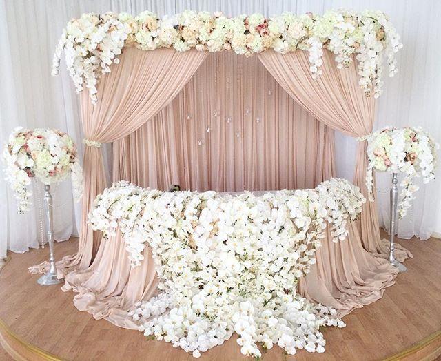 Водопад орхидей ))) Декор @mihailovaart @ostrosablina_decor  организация @mihailovaart