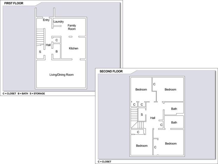 Cfa yokosuka ikego townhouses 4 bedroom townhome floor 4 bedroom townhouse floor plans