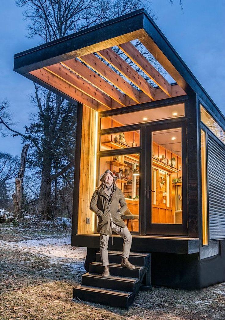 cornelia tiny house lichtgeflutetes studio f r die. Black Bedroom Furniture Sets. Home Design Ideas