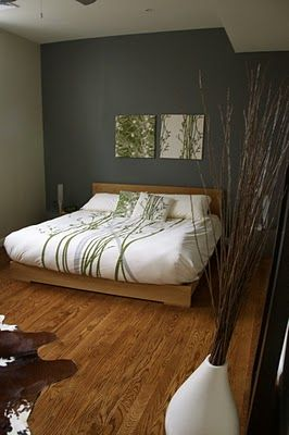 Love Love Love This Green And White Scheme For Master Bedroom.