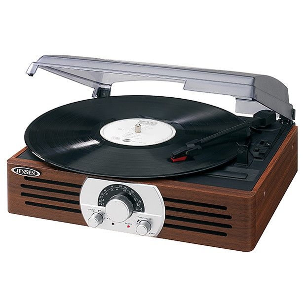 JENSEN 2 Speed Turntable JTA-222