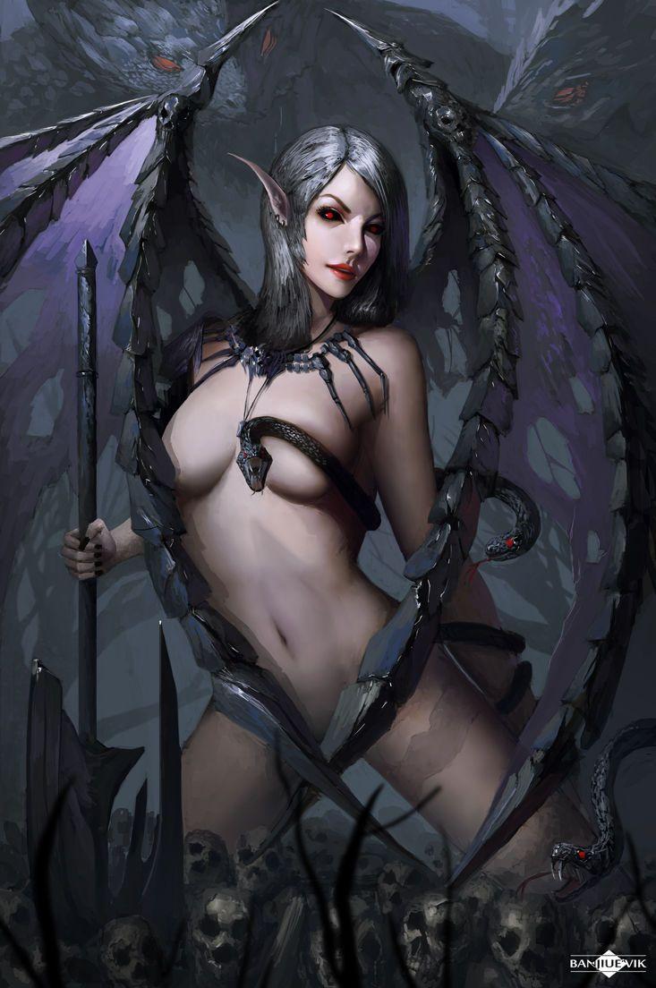 Naked demon women, sex blowjob artis porn