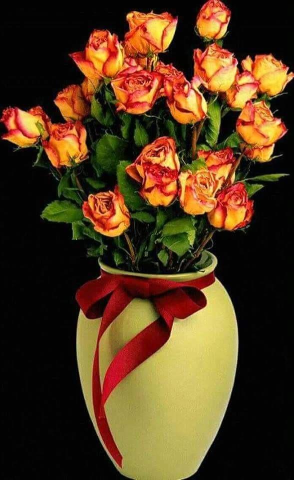 фото гиф цветов букеты последнем