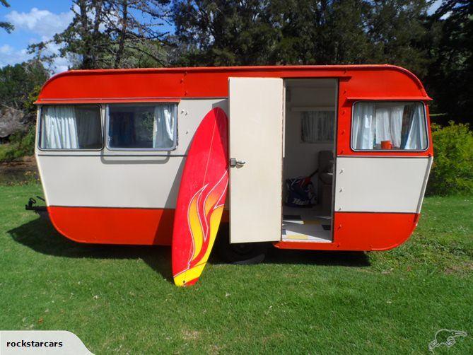 Vintage Wagon Caravan or Travel Liteweight Silver Planet NZ & 41 best Awesome NZ caravans images on Pinterest | Vintage caravans ...