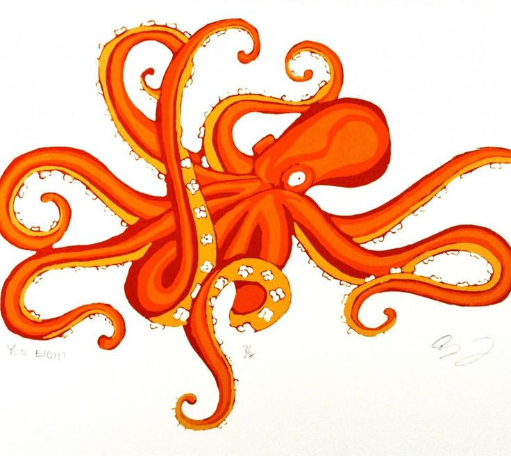 another great octopus; would like less cartoony though
