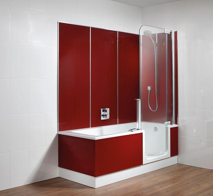 komfortabel und praktisch walk in duschen badewanne barrierefrei - Duschkabine Badewanne Mehr Praktisch Und Komfortabel