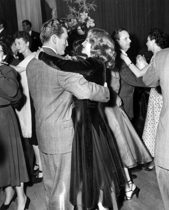 Sunset Boulevard Quotes: Kirk Douglas And Rita Hayworth Dancing At Ciro's (8433