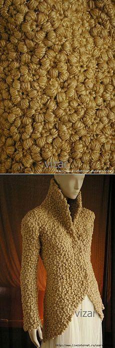 & quot; astrakhan & quot; crochet pattern