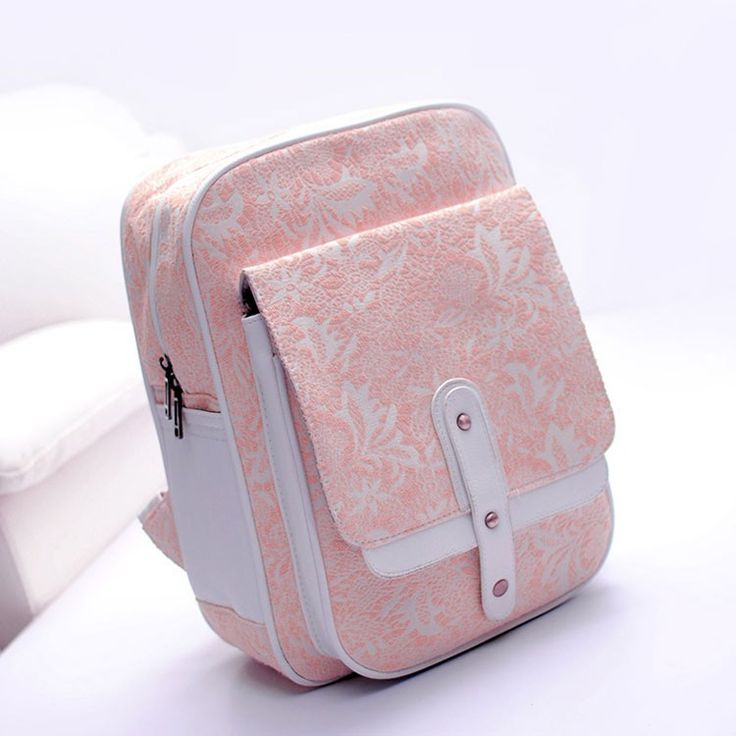 Sweet Pink Lace Embroidered Nice Backpack |Fashion Backpacks - Fashion Bags- ByGoods.com