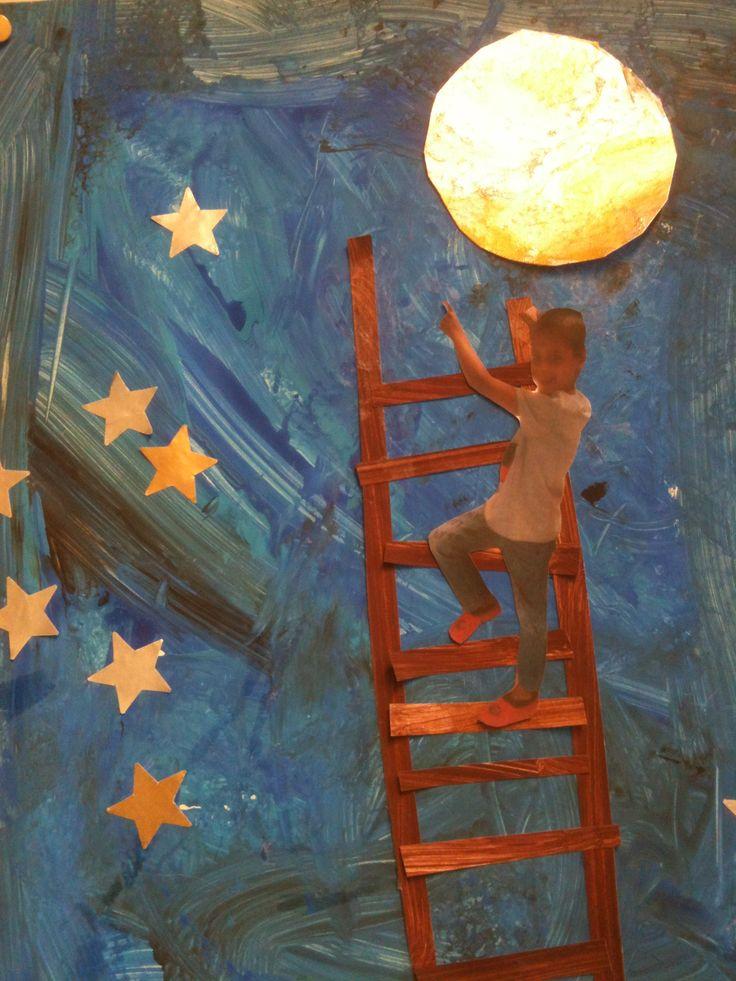 Ik wil naar de maan