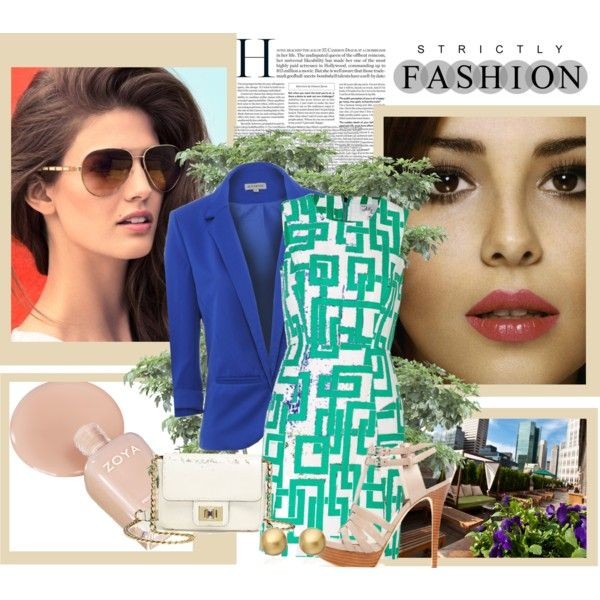 Fashion by own-style on Polyvore featuring moda, Milly, MICHAEL Michael Kors, Juicy Couture, Astley Clarke, Zoya, ESCADA and L'Oréal Paris