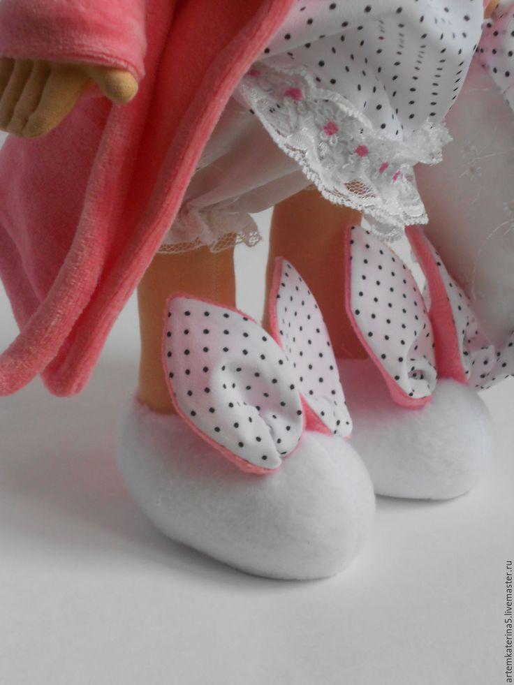 Купить Кукла-сплюшка. - розовый, кукла ручной работы, кукла в подарок, сплюшка