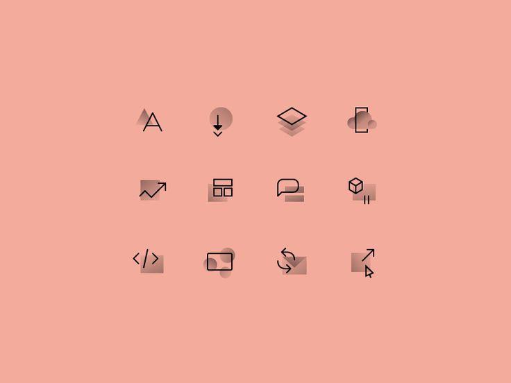 Icons by Ryan Morrison #Design Popular #Dribbble #shots