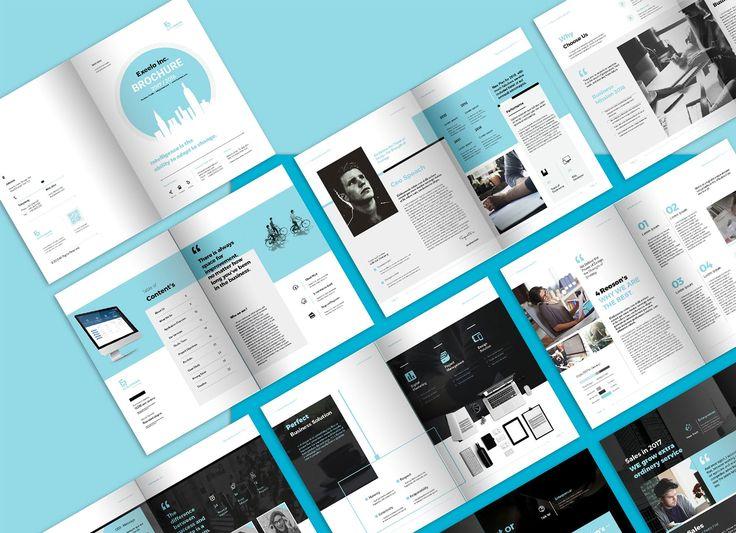 Best Brochure  Images On   Brochure Template