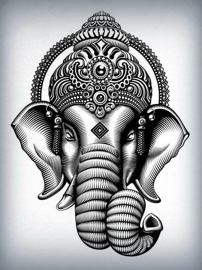 Tatuaggio Ganesh: significato e idee tattoo