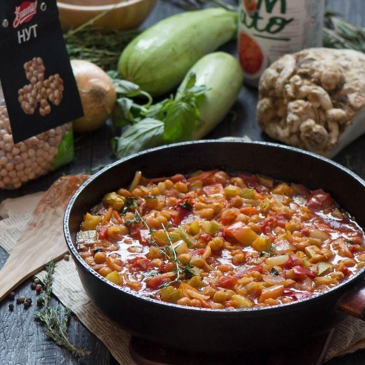 187 отметок «Нравится», 1 комментариев — Рецепты Bravolli! (@bravolli.ru) в Instagram: «Рецепт «Нут с овощами» от #любительBravolli @marmalade_kingdom 👌 Нут я сначала заливаю водой на 12…»