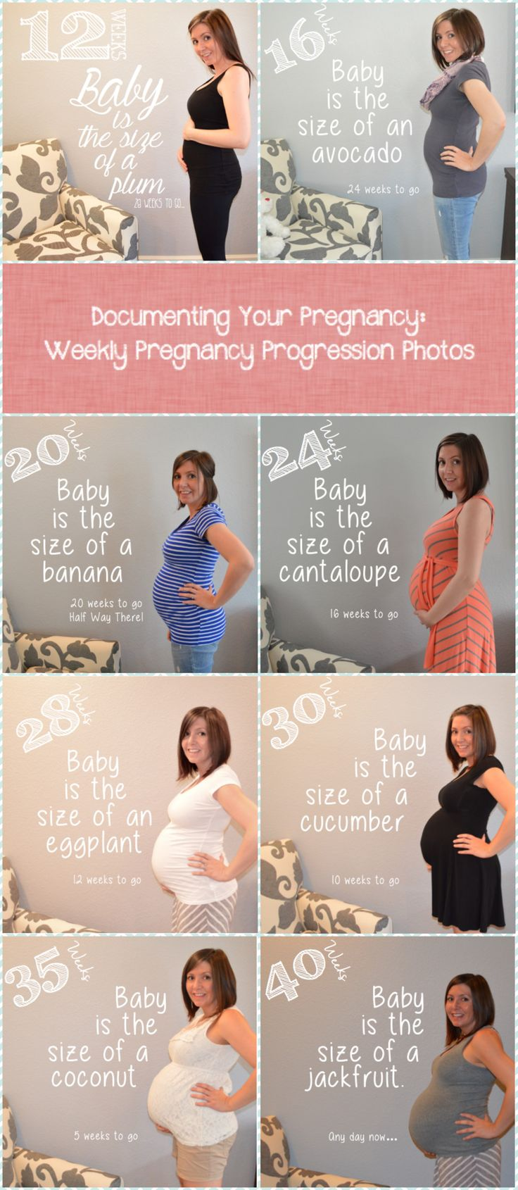 How to document your pregnancy! Weekly pregnancy progression photos and journal entries! <3