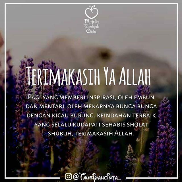 Kata Mutiara Embun Pagi Islam