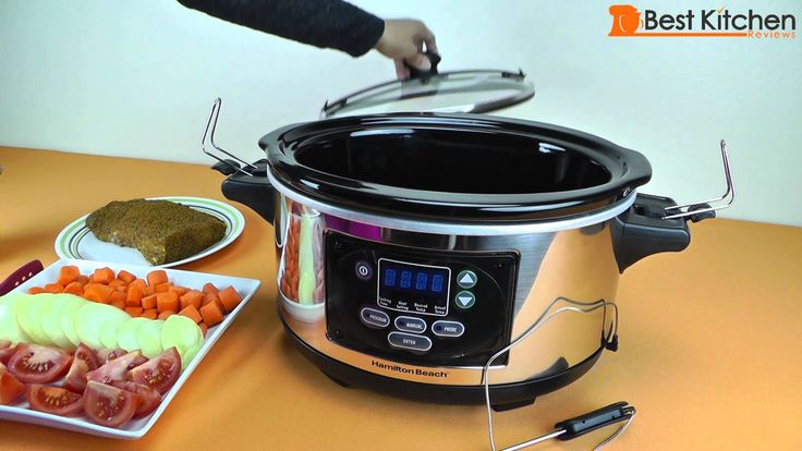 This is a review of the Hamilton Beach 6 Quart Oval Programmable Slow Cooker. This cooker makes delicious one pot meals. You can set it and forget it! Link t...