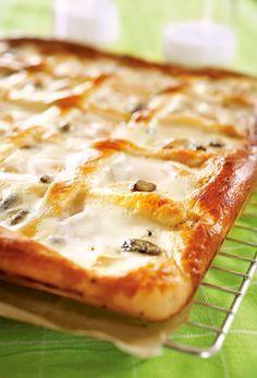 Rahkapiirakka, pellillinen   K-Ruoka #leivonta