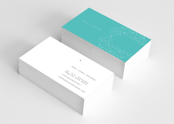 clean style Name Card name card design Pinterest Business - name card