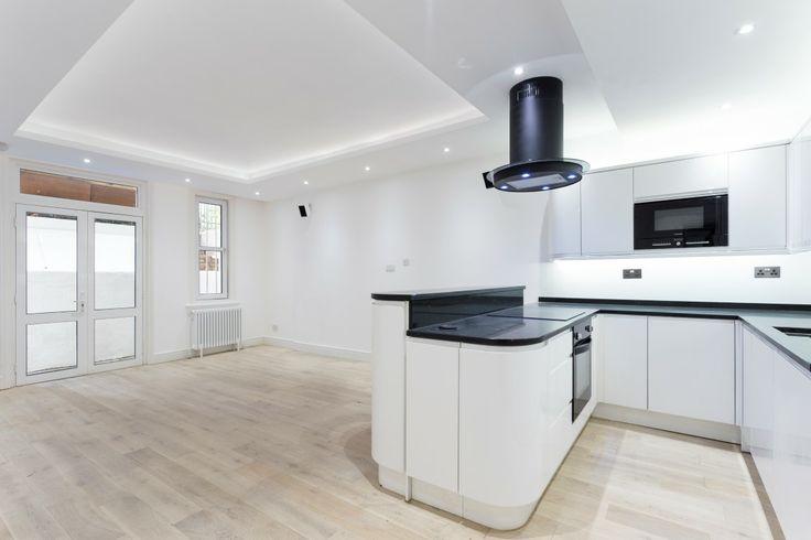 Kitchen basement flat London SW5 #cutlerandbond #basementflat #gardenflat #londonproperty