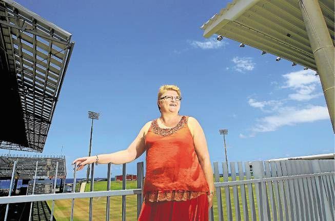 Julie Nicoll: league's woman of steel