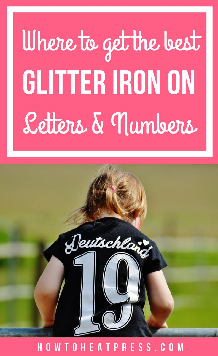 Best iron on letters for t-shirts